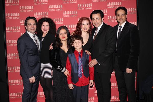 Mario Cantone, Liza Vann, Kendra Jain, Joli Tribuzio, Nico Bustamante, Johnny Tammaro and Ralph Macchio