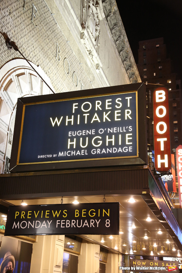 Photo Coverage: Forest Whitaker&Frank Wood Take Opening Night Bows in HUGHIE!