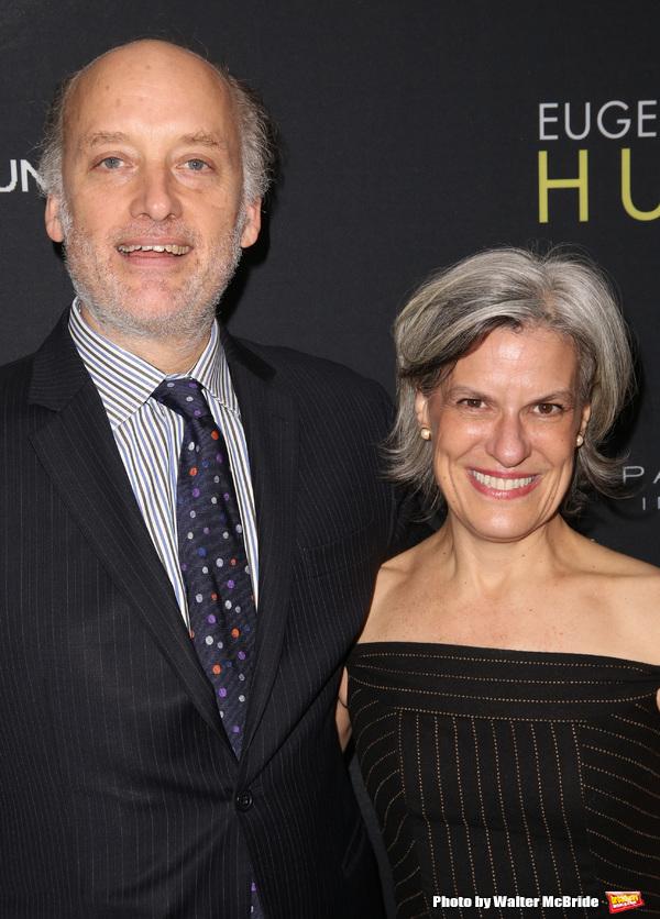 Frank Wood and wife Kay Gayner