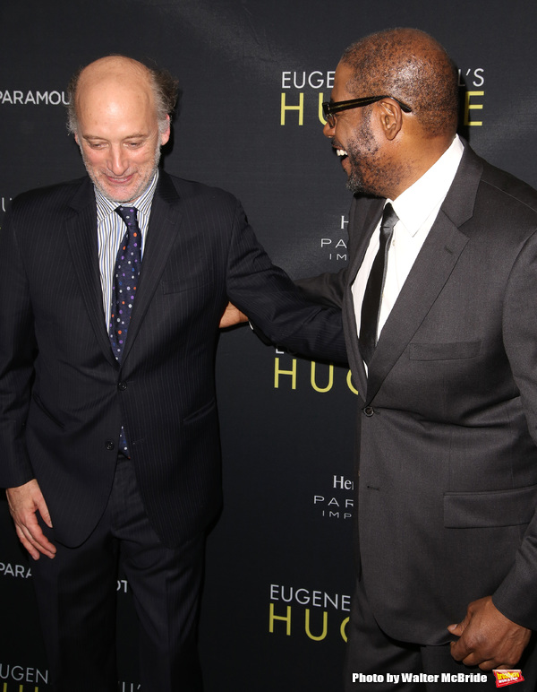 Frank Wood and Forest Whitaker  Photo