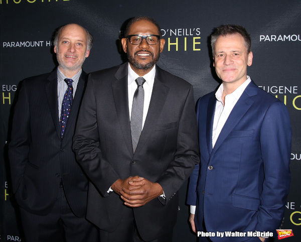 Frank Wood, Forest Whitaker and Michael Grandage  Photo