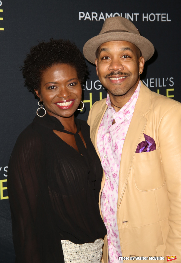 LaChanze and Darius de Haas