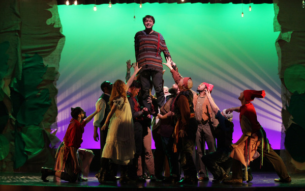 Photo Flash: First Look at PETER AND THE STARCATCHER at Georgia Ensemble Theatre