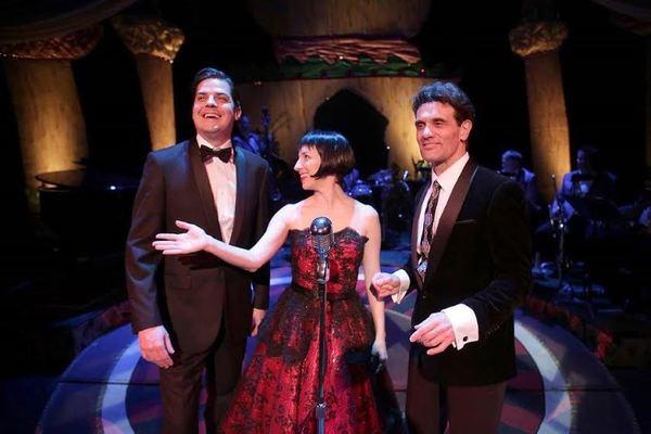 Paul Perroni, Vanessa Claire Stewart, and Anthony Crivello Photo