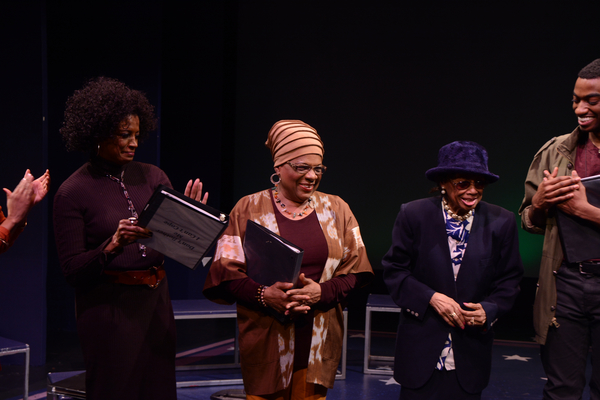 Marva Hicks, Tine Fabrique, Micki Grant (Composer) and Jelani Aladin