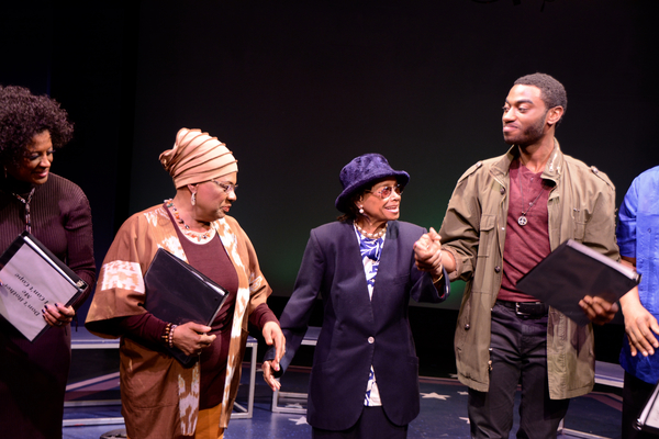 Marva Hicks, Tine Fabrique, Micki Grant and Jelani Aladin