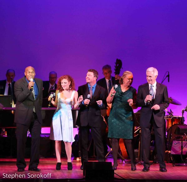 Everett Bradley, Solange Prat, Kevin Osborne, Vanesse Thomas, James Naughton Photo