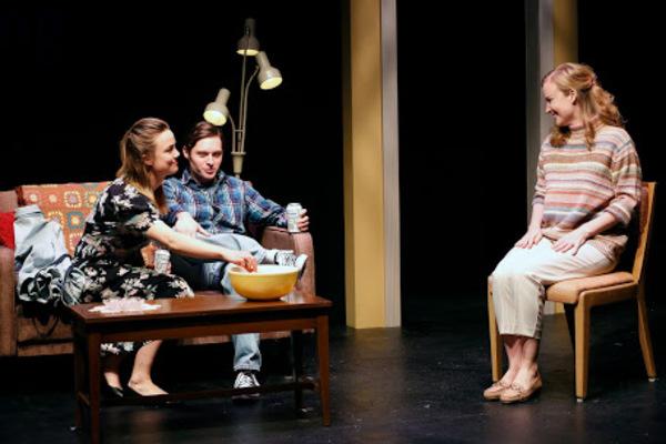 Rebecca Rittenhouse, Bobby Steggert, and Heidi Armbruster