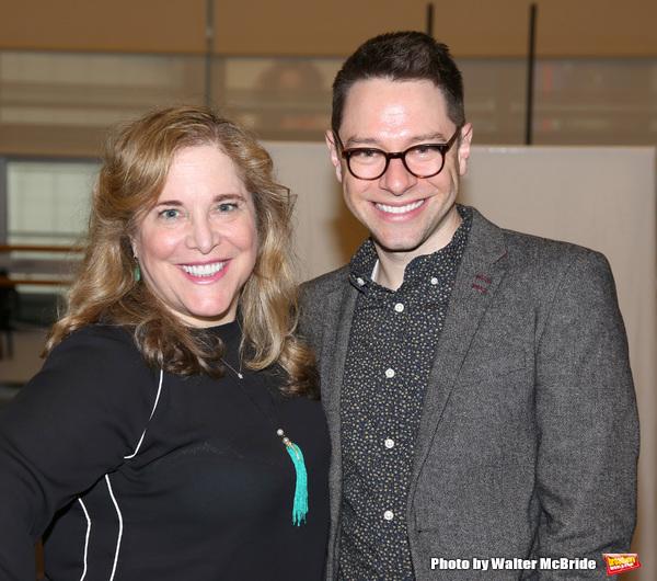 Claudia Shear and Tim Federle Photo