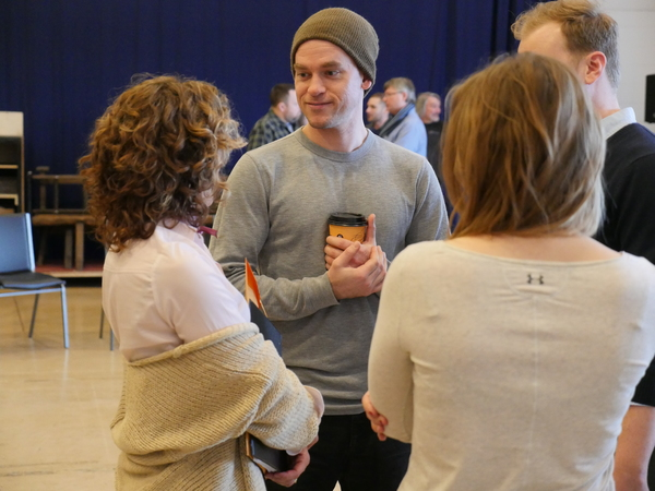 Exclusive Photos: Inside the First Rehearsal of the North American Premier of SHAKESPEARE IN LOVE
