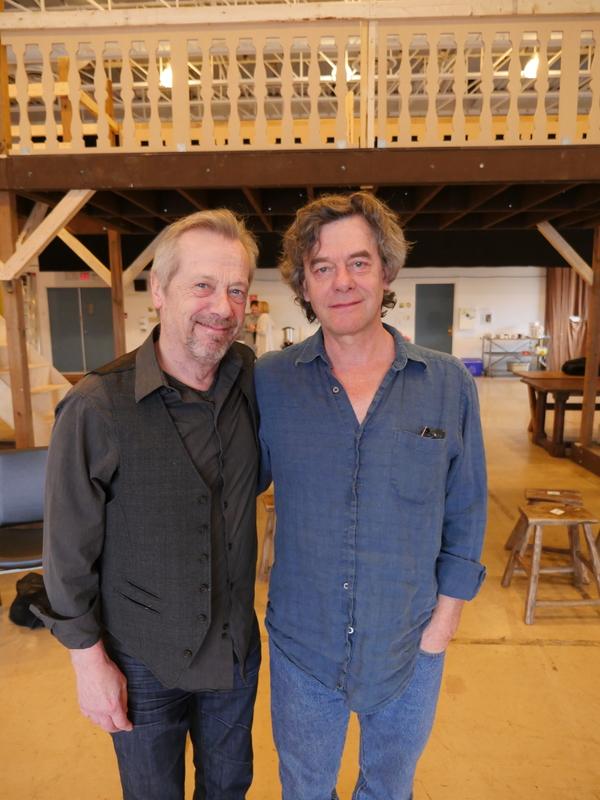 Stephen Ouimette (Henslowe) and Tom McCamus (Fennyman) Photo