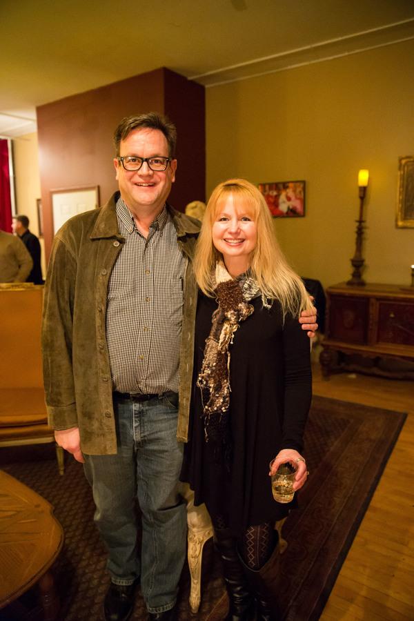 Chuck Gessert (Producer) and Patty Bird