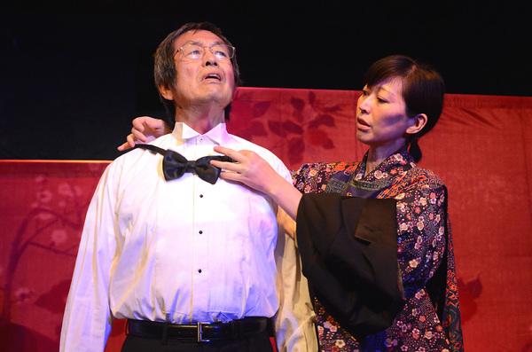 Toshi Toda and Mika Santoh