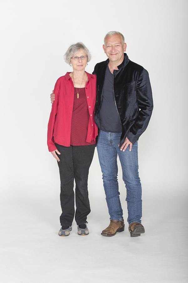 Book writer Sybille Pearson and composer and lyricist Michael John LaChiusa Photo