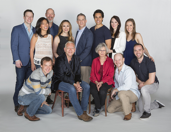 The cast and creative team of RAIN at The Old Globe