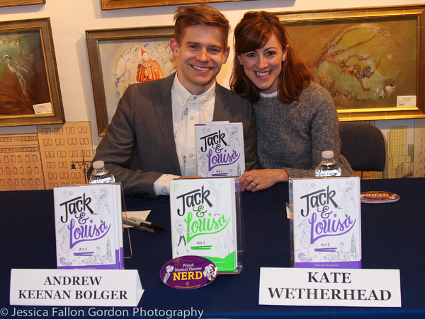 Andrew Keenan-Bolger and Kate Wetherhead