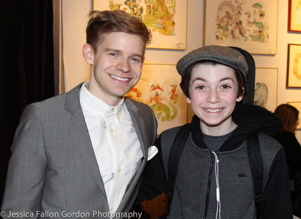 Andrew Keenan-Bolger and Nicky Torchia