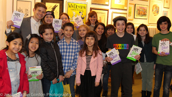 Andrew Keenan-Bolger, Kate Wetherhead and the kids of Broadway