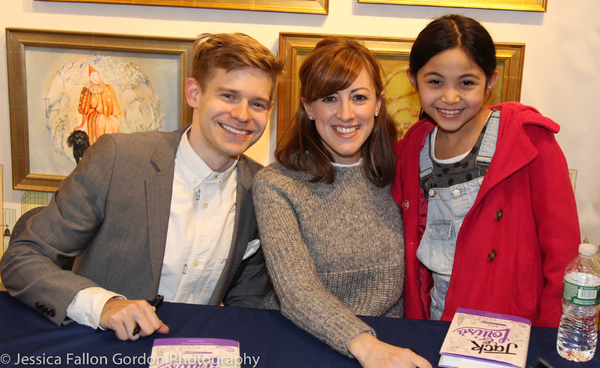 Andrew Keenan-Bolger, Kate Wetherhead and Adriana Braganza