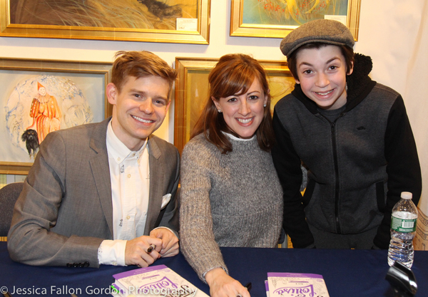 Andrew Keenan-Bolger, Kate Wetherhead and Nicky Torchia