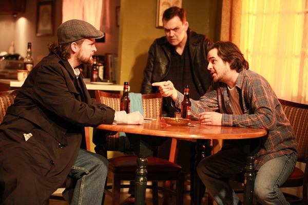 Robert Kauzlaric, Jeff Duhigg and Matthew Isler