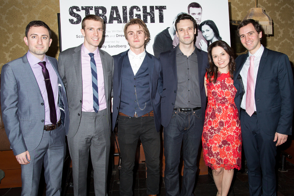Photo Coverage: STRAIGHT's Jenna Gavigan, Jake Epstein & Thomas E. Sullivan Celebrate Opening Night