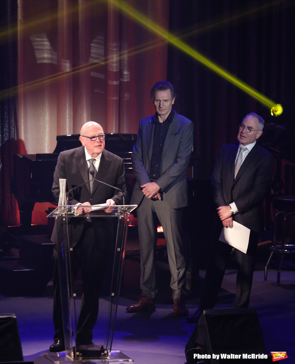 Thomas E. Tufts, Liam Neeson and Todd Haimes  Photo
