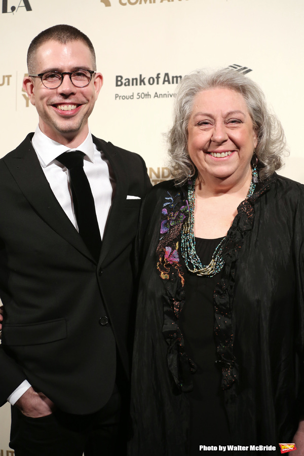 Stephen Karam and Jane Houdyshell