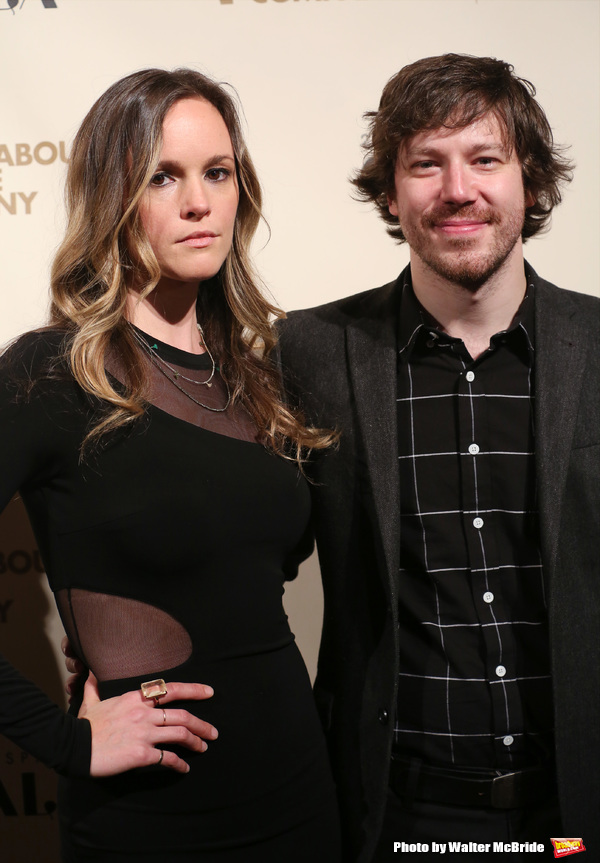 John Gallagher Jr. and guest