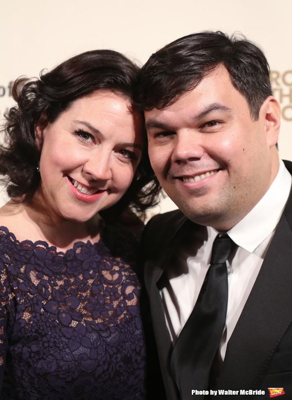 Kristen Lopez and Robert Lopez