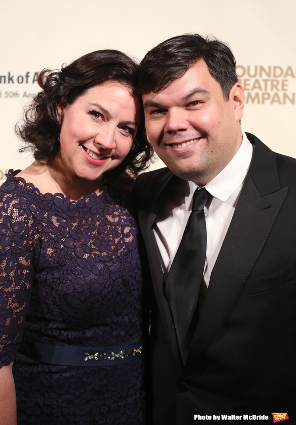 Kristen Lopez and Robert Lopez