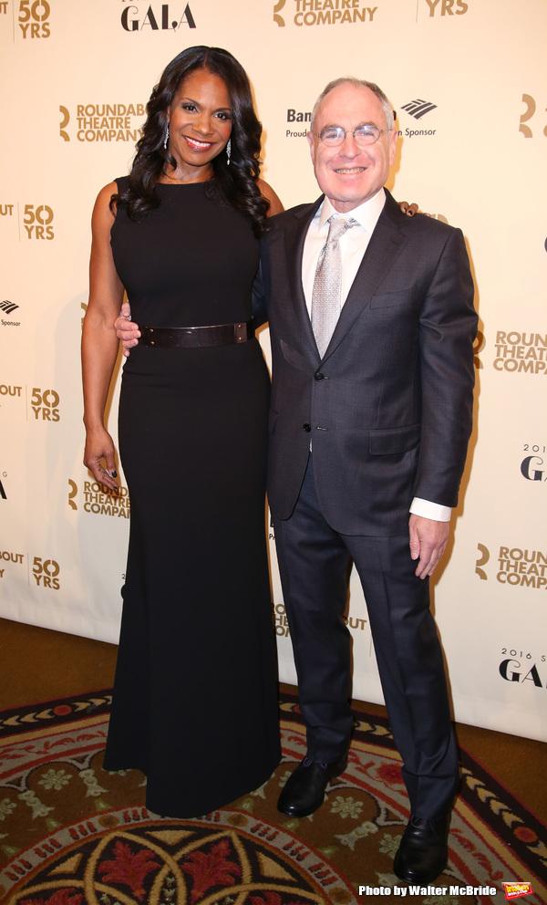 Audra McDonald and Todd Haimes