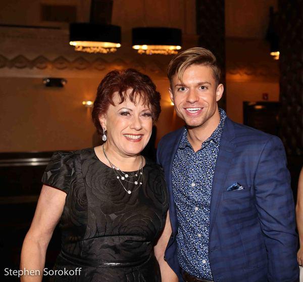 Judy Kaye & Hunter Ryan Herdlicka