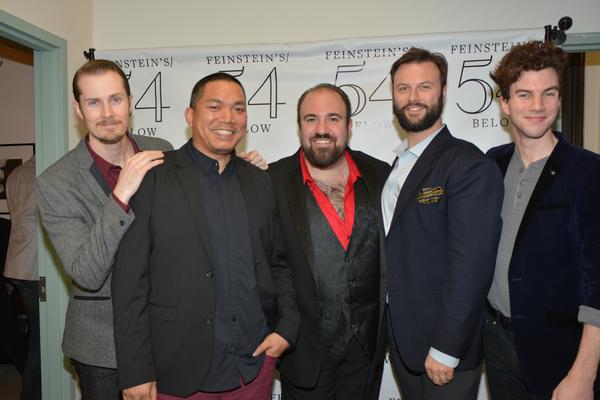 Michael Padgett, Adam Shapiro, Edward Miskie and Matt McLean