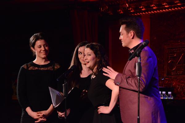 Renee Gagner, Samantha, Madeline Hamlet and Brian Charles Rooney Photo
