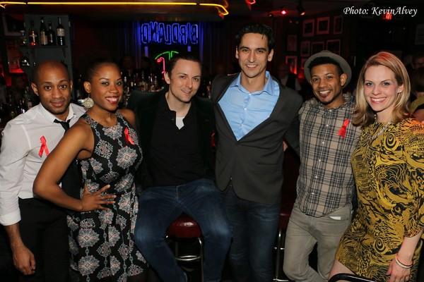 Lamar Legend, Eleasha Gamble, Nolan Doran, Sean Maclaughlin, Jaime Cepero and Elaine  Photo
