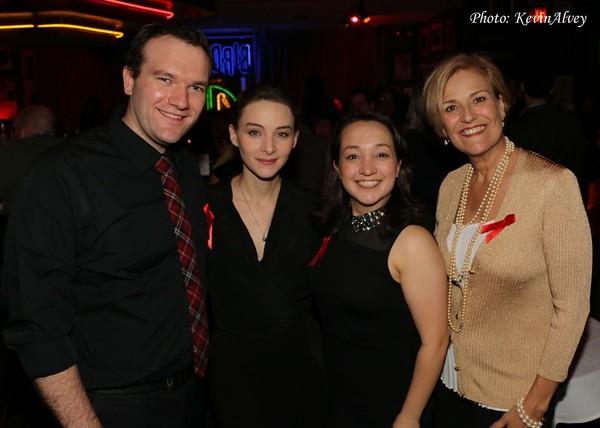Will Poost, Natalie Knropf, Jill Sapenoff and Karen Mason