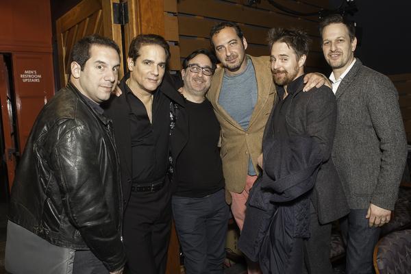 Seth Herzog, Yul Vazquez, Michael Panes, David Bar Katz, Sam Rockwell and Josh Charle Photo