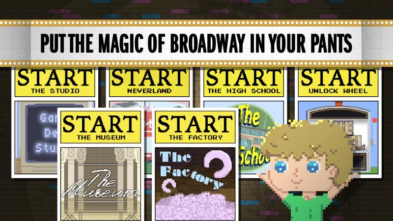 New Mini-Game App PETER PANIC Throws Fans into the World of Broadway