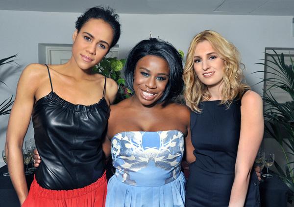 Photo Flash: Uzo Aduba, Zawe Ashton, Laura Carmichael and More Celebrate THE MAIDS Opening in London