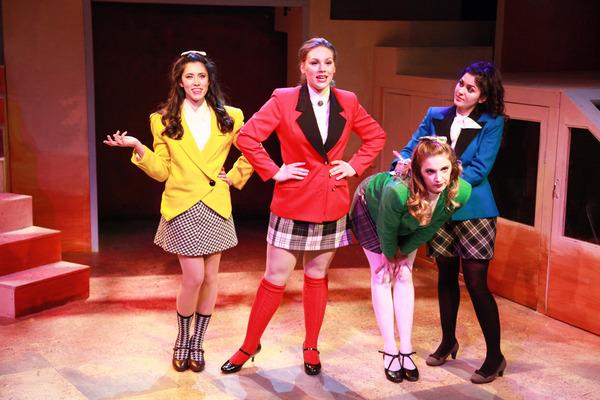 Rochelle Therrien, Jacquelyne Jones, Haley Jane Schafer and Courtney Mack