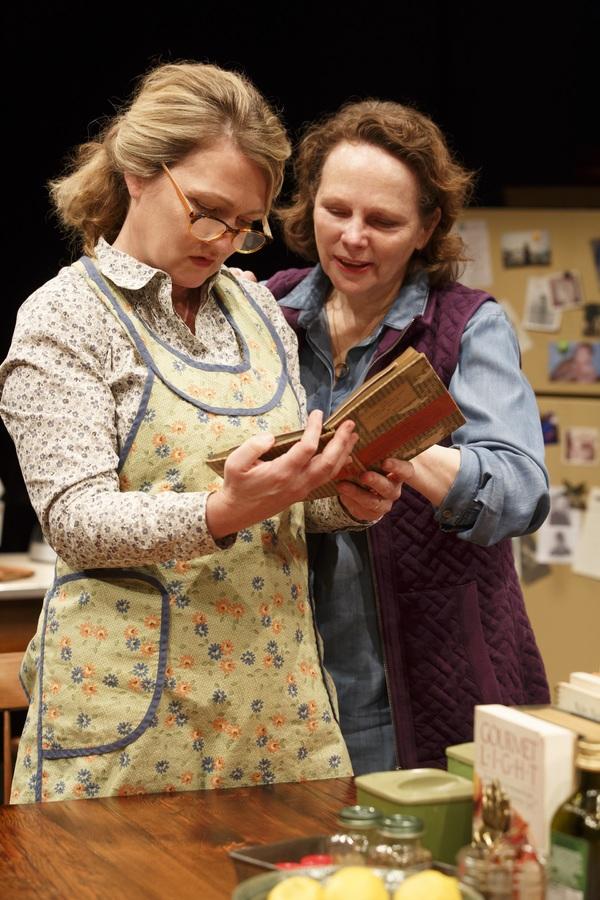 Lynn Hawley and Maryann Plunkett