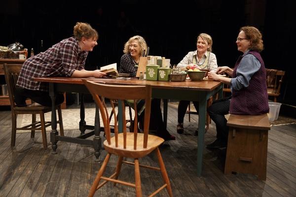 Amy Warren, Meg Gibson, Lynn Hawley, and Maryann Plunkett