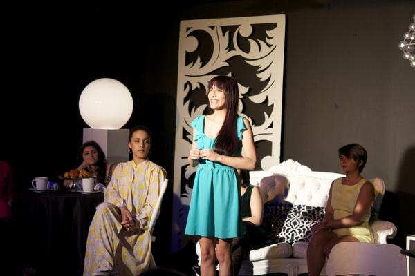 Amanda Levie performs ''Laugh About It Now''. Photo