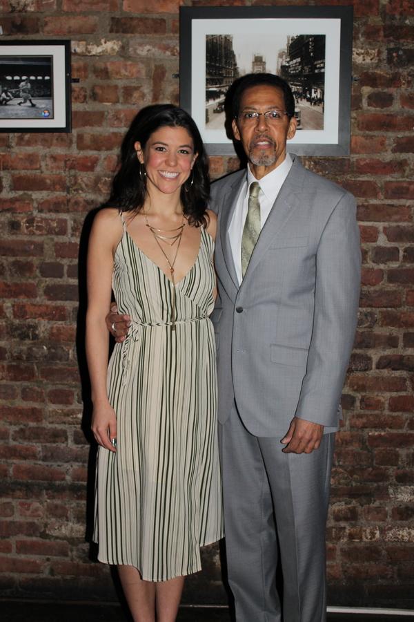 Zoe Winters and Peter Jay Fernandez