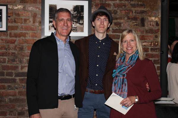 Gary Breaux, Alex Breaux and Nancy Breaux