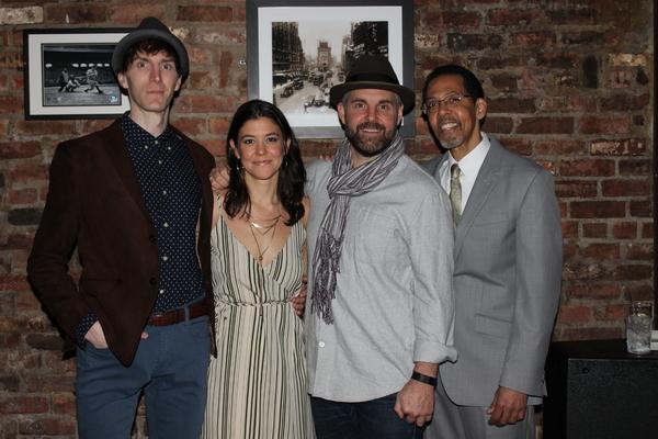 Alex Breaux, Zoe Winters, Lucas Caleb Rooney and Peter Jay Fernandez