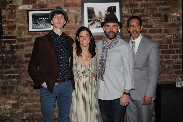 Alex Breaux, Zoe Winters, Lucas Caleb Rooney and Peter Jay Fernandez Photo