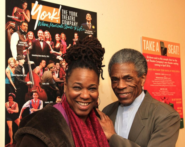 Photo Flash: Andre De Shields & Hope Clarke Attend DON'T BOTHER ME, I CAN'T COPE at York Theatre Company