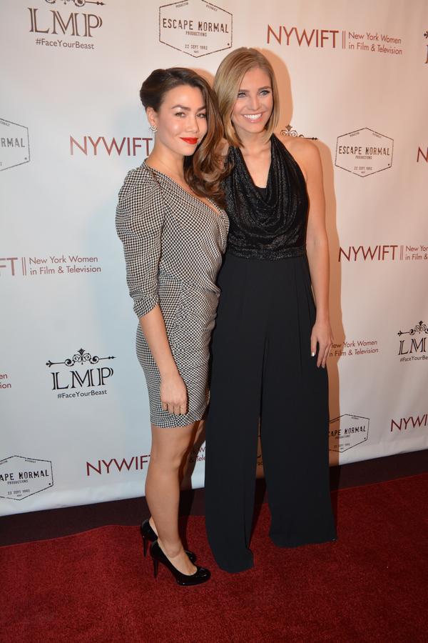 Sharleen Joynt and Olivia Caridi Photo